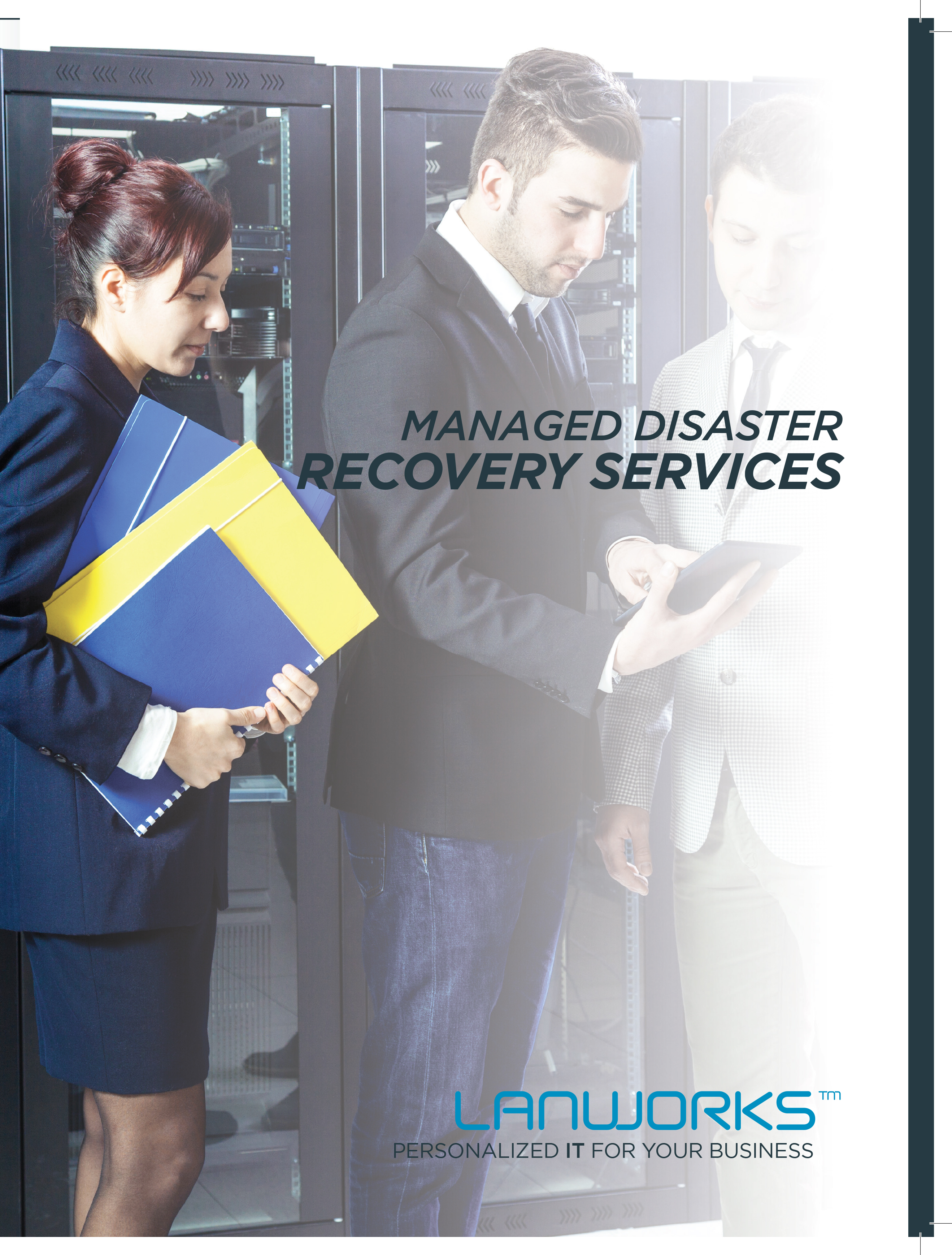 disaster recovery and business continuity brochure